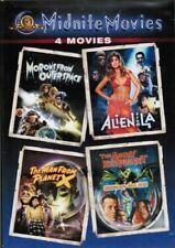 Midnite Movies - 4 Space Science Fiction Four Pack Humor Horror NEW DVD