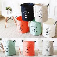 Laundry Basket Collapsible Handbag Storage  Useful Bag Canvas Kids Baby Toy