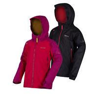 Regatta Allcrest II Kids Lightweight Waterproof Breathable Jacket Black