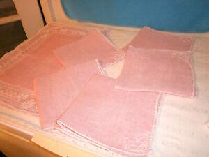 Collectible Pink Napkins