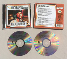 ERIC CLAPTON & FRIENDS - LEGENDS IN MUSIC COLLECTION / DOUBLE CD ALBUM