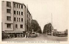 France La Courneuve - Carrefour des Six-Routes - Boulevard de Stain old postcard