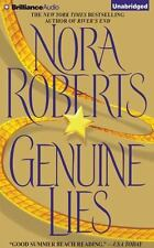 GENUINE LIES unabridged audio book on CD by NORA ROBERTS...