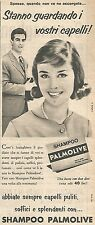 W8685 Shampoo PALMOLIVE  - Pubblicità del 1958 - Vintage advertising