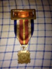 1955 VFW Of The US Delegate Encampment Springville Illinois Medal w/h Ribbon