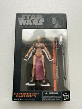 Star Wars Black Series 6 inch Princess Leia Slave Outfit Orange Line #05