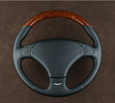 New Aston Martin DB7 Sports wooden steering wheel COMPLETE old stock