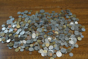 Lot of 9 Pounds of World Coins - No Silver - Collection