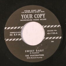 FASCINATIONS: Sweet Baby / The Bells Of My Heart 45 (repro) Vocal Groups