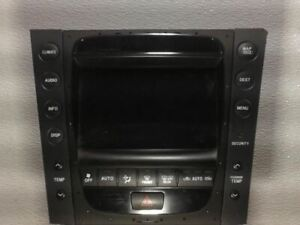 Radio Receiver Display 2006 06 LEXUS GS300 8611130390