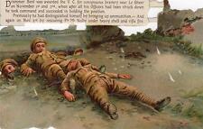 Military Victoria Cross Drummer Bent postcard size Scrap (NOT POSTCARD)