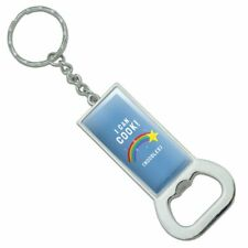 I Can Cook Noodles Shooting Star Funny Rectangle Metal Bottle Opener Keychain