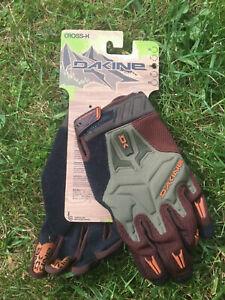 Dakine Cross X Glove, Handschuhe,MX, DH, Downhill Freeride Gr. XL brown/oliv