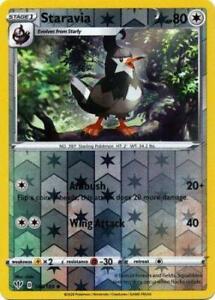 146/189 Staravia Uncommon Reverse Holo Darkness Ablaze Pokemon Card