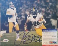 LeVeon Bell Signed Pittsburgh Steelers 8x10 Photo - PSA/DNA COA