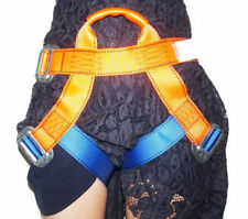 NEW Rappelling Rock Climbing Harness Seat Safety Belt Rescue Downhill Equipment