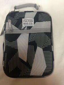 Fulton Bag Co. Upright Lunch Bag Geo Print