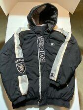 Oakland Raiders NFL Pro Line Starter Jacket Size XL
