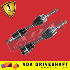 2 New CV Joint Drive Shaft Mitsubishi Pajero NH NJ NK NL 5/91-1/00 Pair Manual