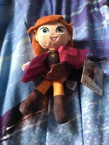 Disney Frozen 2 Soft Plush Anna Brand New