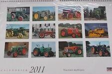 CALTM2011 - Calendrier des Tracterus Mytiques 2011 -  -