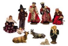 Krippen Krippenfiguren alpenländisch Set 10-teilig in Größe ca.16cm