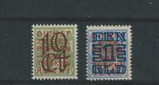Nederland serienrs: 132/133 postfris c.w 275 euro lezen!