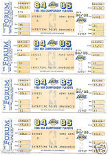 Original 1985 Lakers/Celtics NBA Finals Playoff Tickets @ The Forum Kareem MVP
