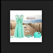 "BNWT "" Coast "" Size 14 Serene Lace Jersey summer wedding Party dress (42 EU) New"