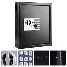 Steel 40 Key Security Storage Safe Cabinet Box Wall Mount Organizer Digital Lock
