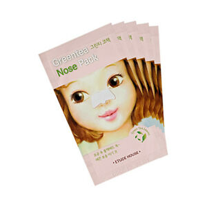 [ETUDE HOUSE] Green Tea Nose Pack - 5pcs ROSEAU