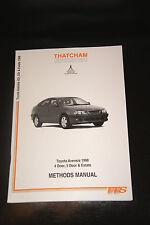THATCHAM Body Repair Methods Manual Toyota Avensis 1998 4 Door 5 Door & Estate