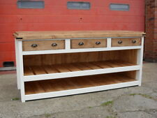 Shop Counter, Solid Pine, Solid back and sides. Butchers Block Style Top
