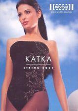 Wolford Katka Stringbody Sleeveless Color: Pepper/Gold Medium 70975 - 10 Rare