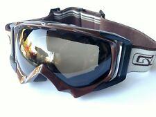 Giro double lens Anti Fog Brown snow goggles