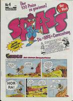 """Spass Die """"irre"""" Comiczeitung Nr.4 von 1983 - TOP Z0-1 wie NEU!!! BASTEI SELTEN!"""