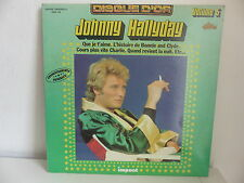 JOHNNY HALLYDAY Disque d or Volume 5 Que je t aime ... IMPACT 6886 186
