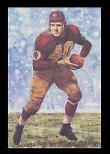 Wayne Millner Goal Line Art Card Washington Redskins