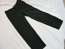 Codet Hunter Green Heavy Wool Pants sz 32 x 33 Made in Canada