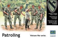 Master Box 1/35 US Soldiers Patroling Vietnam War # 3599