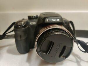 Panasonic Lumix DMC-FZ40 14.1MP HD 720p Bridge Camera 24x