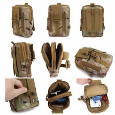 Tactical Molle Pouch Waist Pack Bag Military Hiking Camp Waist Phone Pocket