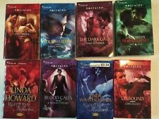 Lot Of 8 BRAND NEW-NEVER READ Silhouette Nocturne Paranormal Fiction