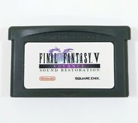 Final Fantasy V 5 Advance Sound Restoration Nintendo Gameboy Advance Custom GBA