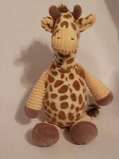 """Bunnies By The Bay Giraffe 13"""" Plush Soft n Cuddly Stuffed Animal Euc"""