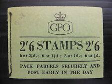 GB 2/6 1955 febbraio F27 WILDING opuscolo prezzo di vendita xy449