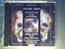 """Greif : Chants de l'Âme [CD] Olivier Greif; Jennifer Smith; Greif Olivier; E"""