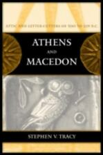 NEW - Athens and Macedon: Attic Letter-Cutters of 300 to 229 B.C.