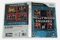 Hollywood Squares H2 Nintendo Wii Ubisoft MultiPlayer Complete CIB Manual