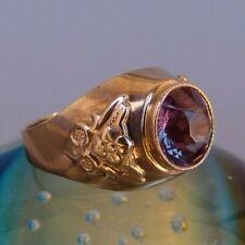 WUNDERSCHÖNER RUSSISCHER DAMEN GOLD RING, 8,34 GRAMM / 583 GOLD / RING GR. 63